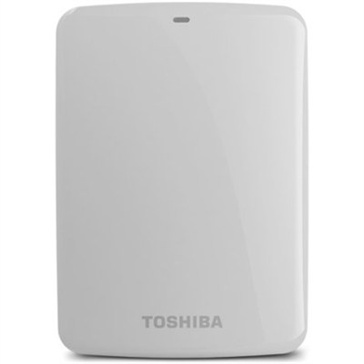 Canvio Connect 2TB Portable Hard Drive, White (HDTC720XW3C1)