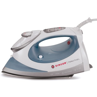PF04 - Perfect Finish 1700 Watt Steam Iron (White/Blue)