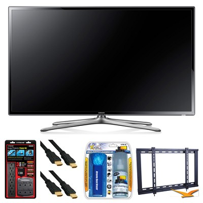 UN65F6300 65` 120hz 1080p WiFi LED Slim Smart HDTV Wall Mount Bundle
