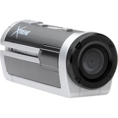 Xtreme Sports Full HD 1080p Waterproof Helmet Video Camera (Silver) OPEN BOX