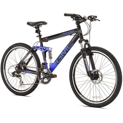 26` Topkick Dual Suspension 21 Speed Mountain Bike (72670) - OPEN BOX