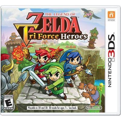 Legend Zelda Tri Force 3DS