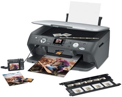 Stylus CX7800 All-In-One Printer, Copier, Film/photo Scanner, Card Reader