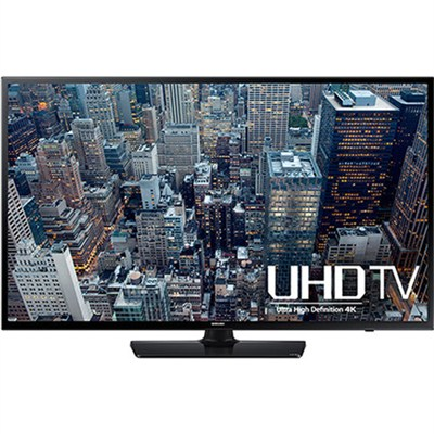 UN40JU6400 - 40-Inch 4K Ultra HD Smart LED HDTV - OPEN BOX