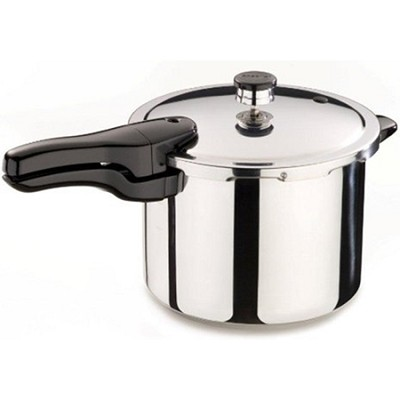 6-Quart Stainless Steel Pressure Cooker
