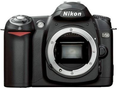 D50 Digital SLR Camera Body (Lens Not Included)