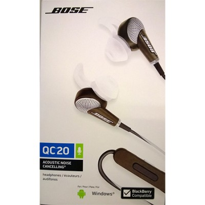 QuietComfort 20 Acoustic Noise Cancelling Headphones - Black