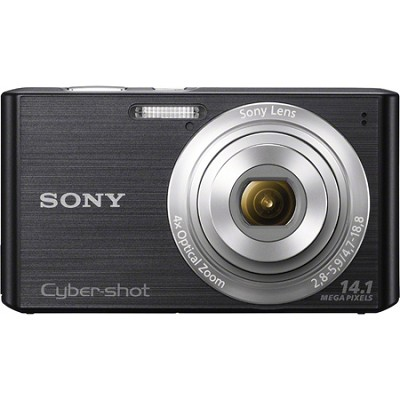Cyber-shot DSC-W610 Black 14.1 MP Compact Digital Camera - OPEN BOX