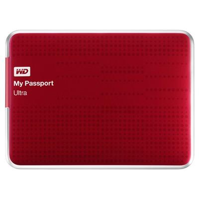 My Passport Ultra 2 TB USB 3.0 Portable Hard Drive - WDBMWV0020BRD-NESN (Red)