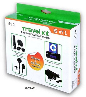 6-in-1 travel Kit for All iPhone & iPod Models
