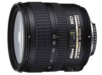 24-85mm F/3.5-4.5G ED-if AF-S Zoom-Nikkor Lens **Refurbished**