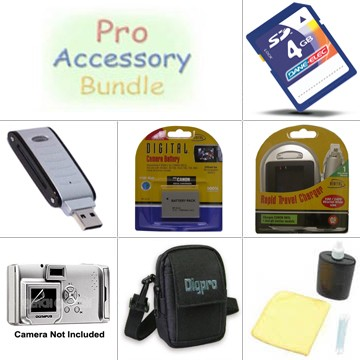 Platinum Accessory Kit for Powershot SD800, SD850, SD870, SD900 & SD950
