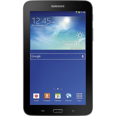 Galaxy Tab 3 Lite 7.0` Black 8GB Tablet - 1.2 GHz Dual Core Processor - OPEN BOX