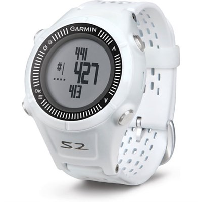 Approach S2 GPS Golf Watch (White/Gray) - Manufacturer Refurbished