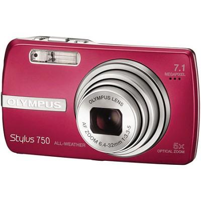 Stylus 750 Digital Camera (Red)