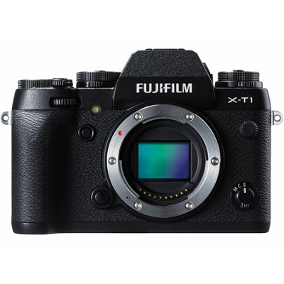 X-T1 16.3MP Full HD 1080p Video Mirrorless Digital Camera - Body Only