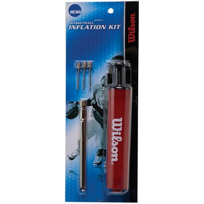 NCAA Ball Inflation Kit with Pump, Gauge, and Needles
