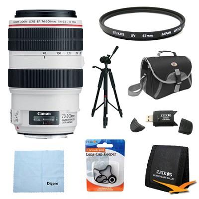 EF 70-300mm f/4-5.6L IS USM UD Telephoto Zoom Lens Exclusive Pro Kit