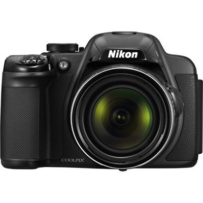 COOLPIX P520 18.1MP CMOS Digital Camera with 42x Zoom Lens (Black) Refurbished