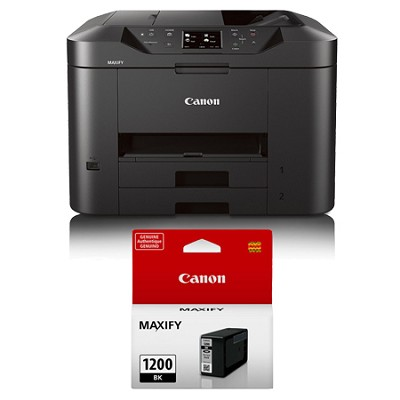 MAXIFY MB2320 Wireless Home Office All-In-One Printer + Bonus Black Ink Bundle