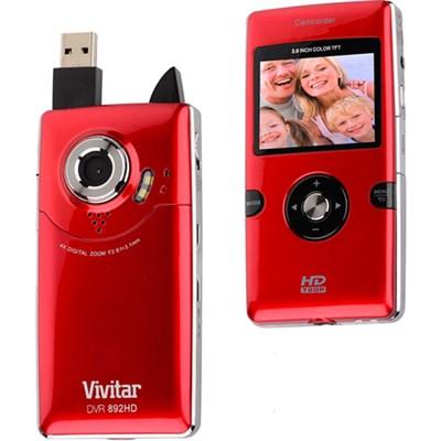 Digital Camcorder 892HD - Red - High Definition