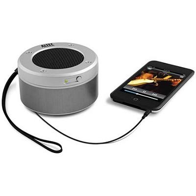 IM-237 Orbit Portable Speaker for Apple iPod/iPhone/MP3 Silver (Bulk Packaging)