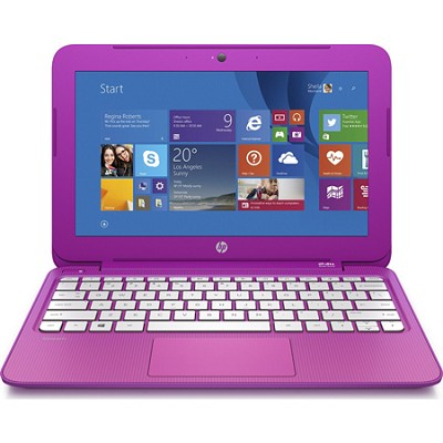 Stream 11 Laptop/Office 365 Personal for One Year - Orchid Magenta - OPEN BOX