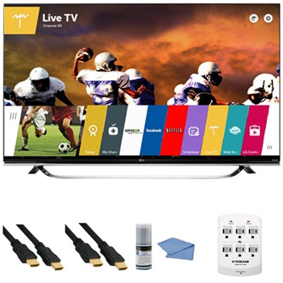 65UF8500 - 65-Inch 2160p 240Hz 3D 4K Ultra HD LED UHD Smart TV WebOS +Hookup Kit