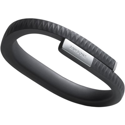 UP by Jawbone - Large Wristband - Onyx/Black (Certified Refurbished)