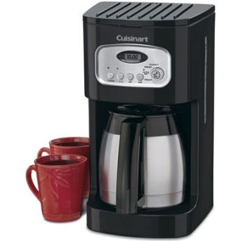 Brew Central 10-Cup Programmable Thermal Coffeemaker (Black)