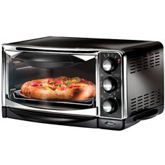 6 Slice Toaster Oven (black)
