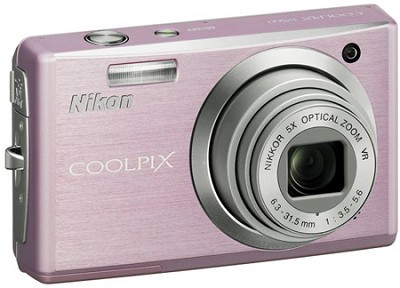 Coolpix S560 Digital Camera (Cherry Blossom)