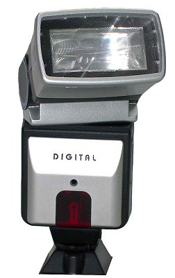 Bounce and Swivel Slave Flash for Digital Cameras - OPEN BOX