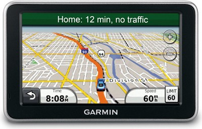 nuvi 2460LT 5-Inch Widescreen Bluetooth Portable GPS Navigator