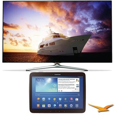 UN46F7500 - 46` 1080p 240hz 3D Smart Wifi LED HDTV and 10.1` Galaxy Tab 3 Bundle