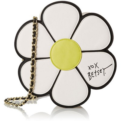 Cream Pushing Daisies Crossbody Daisy Handbag - BJ44110