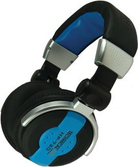 HP720 Professional Headphones Blue
