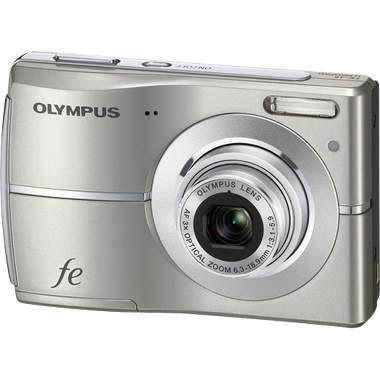 FE-45 10MP 2.5` LCD Digital Camera (Titanium) - REFURBISHED