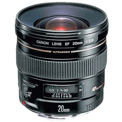 EF 20mm F2.8 USM Lens,CANON AUTHORIZED USA DEALER WARRANTY INCLUDED
