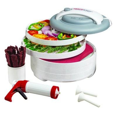 Food Dehydrator - 500 Watts 5 Trays, 16 Piece Set & Jerky Gun