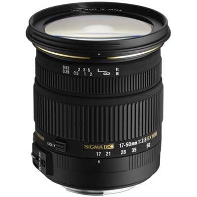 17-50mm f/2.8 EX DC OS HSM FLD Large Aperture Standard Zoom Lens for Sony 58C205