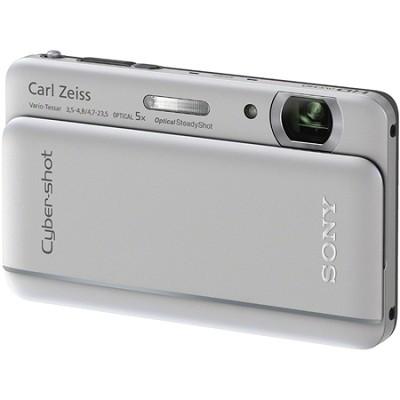 Cyber-shot DSC-TX66 18.2 MP Exmor R CMOS Camera 5X Zoom 3.3` OLED (Silver)