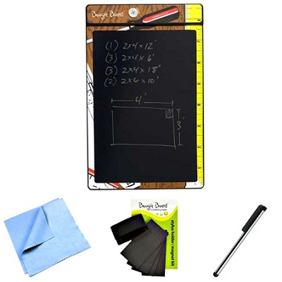 8.5-Inch LCD Writing Tablet, Shop Notes Bundle