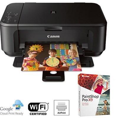 MG3520 Wireless Color Printer, Scanner & Copier + PaintShop Pro X7