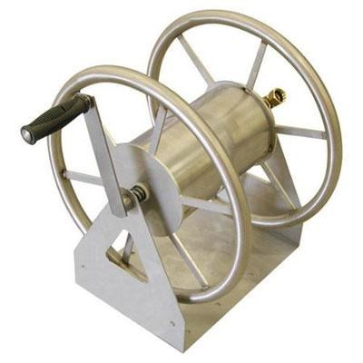 3-in-1 Hose Reel in Tan - OPEN BOX