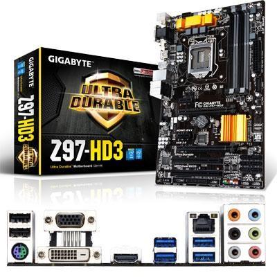 Intel Z97 CPU ATX Motherbrd
