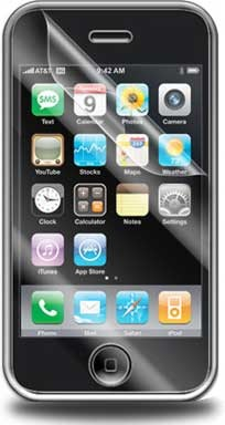 invisibleSHIELD for iPhone 3G Front
