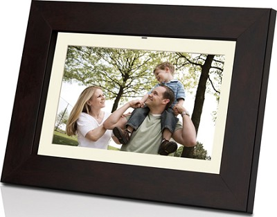 DP852 8 inch 1GB Widescreen Digital Photo Frame w/ Multimedia Playback