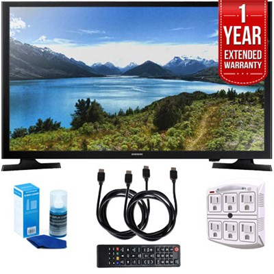 UN32J4000 32-Inch 720p LED TV (2015) with 1 Year Extended Warranty Kit