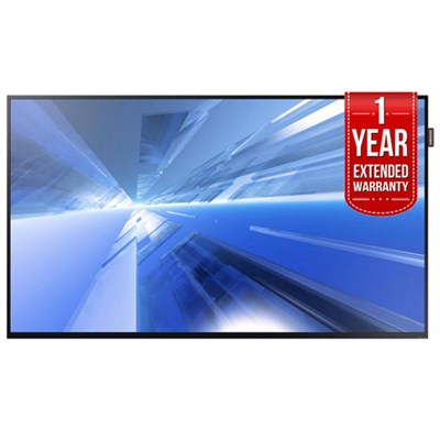 DC40E Slim 40` Direct-Lit LED Display + 1 Year Extended Warranty